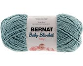 Bernat Baby Blanket Tiny Yarn Clear Sky Worsted Weight 4