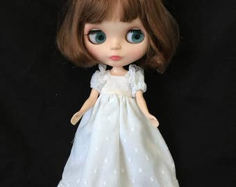 Blythe/Pullip dress and pants and flower circlet