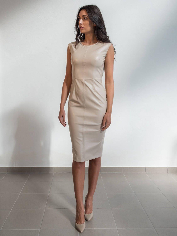 57237b82bb Sukienki i spódnice ze skóry ekologicznej – modna ekoskóra. Uroda i ...