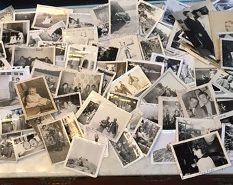 Lot of TONS of Anitque Photographs
