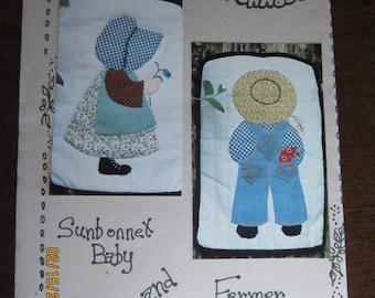 Sunbonnet Baby and Farmer Boy Applique Patterns