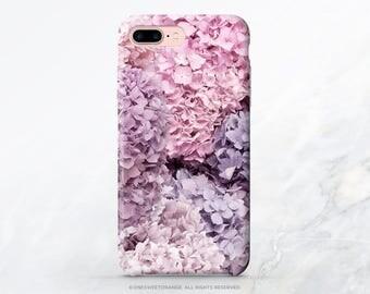 iPhone 7 Case Hydrangea iPhone 7 Plus iPhone 6s Case iPhone SE Case Floral iPhone 6 Case iPhone 5S Case Galaxy S7 Case Galaxy S6 Case T183