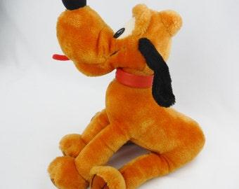 Vintage Applause Disney Pluto dog plush stuffed animal