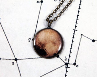 Pluto Necklace
