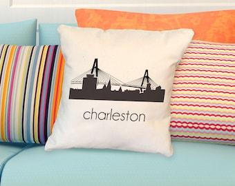 CHARLESTON - Cooper River Bridge - South Carolina - Pillow Cover