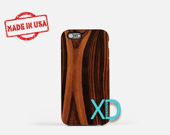 Polished Wood iPhone Case, Lacquer iPhone Case, Wood iPhone 8 Case, iPhone 6s Case, iPhone 7 Case, Phone Case, iPhone X Case, SE Case New