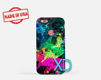 Artistic iPhone Case, Painting iPhone Case, Artistic iPhone 8 Case, iPhone 6s Case, iPhone 7 Case, Phone Case, iPhone X Case, SE Case