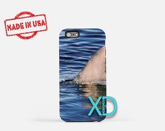 Shark fin iPhone Case, Ocean iPhone Case, Shark fin iPhone 8 Case, iPhone 6s Case, iPhone 7 Case, Phone Case, iPhone X Case, SE Case