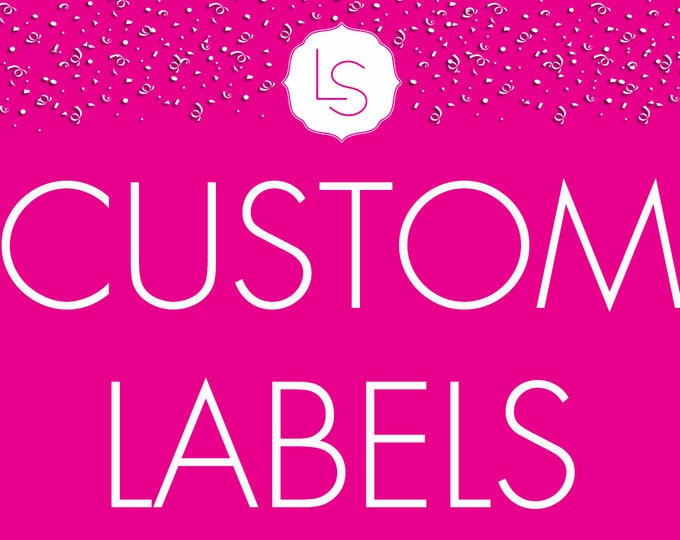 Featured listing image: ADD-ON: Custom Labels