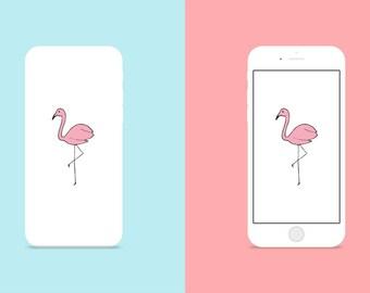 Case Face - Flamingo