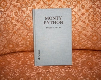 Vintage 1991 MONTY PYTHON by Douglas L. McCall!  Chronological Listing of the Troupe's Creative Output, Articles, Reviews 1969 - 1989