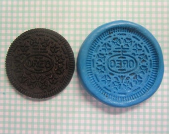 Oreo biscuit silicone mould