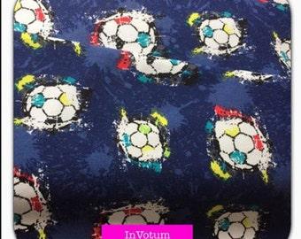Cotton Jersey pressure football, blue, 50 cm