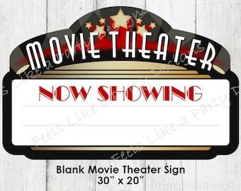 Movie theater decor | Etsy