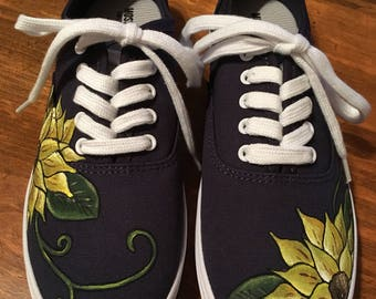 Sunflower Inspired Shoes