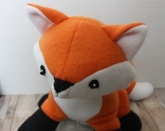 Adorable Orange Stuffed Fox