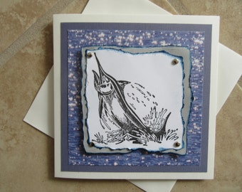 All Occasion MARLIN Fish Greeting Card