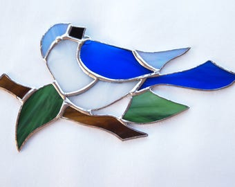 Blue Bird Suncatcher