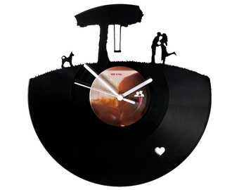 Vinyl clock lovers