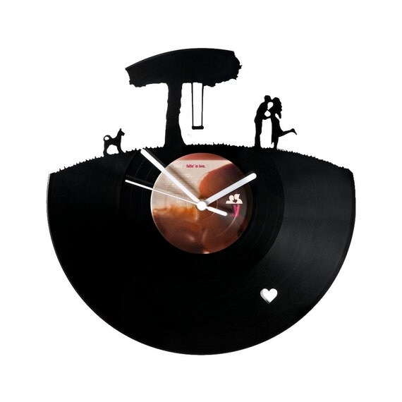 Vinyl clock lovers