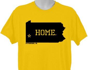 Pittsburgh Pennsylvania Home T-shirt