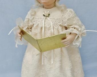 Caroler Lori, porcelain doll