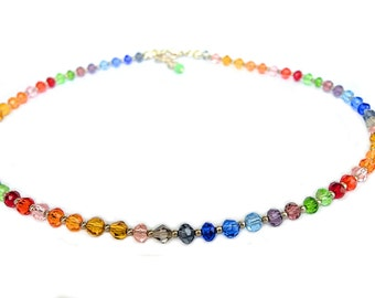 Elegant Crystal Beaded Necklace