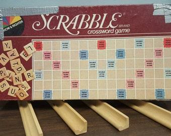 Vintage Scrabble Game 1982 Complete