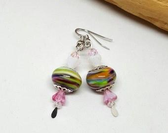 Mulberry Bohemian Earrings - Mulberry Earrings - Bohemian Earrings