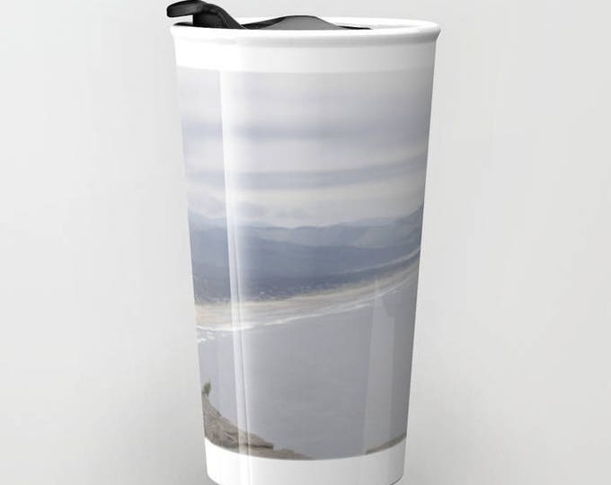 Beach Travel Mug - Beach Photo - Coffee Travel Mug - Hot or Cold Travel Mug - 12oz Travel Mug - Made to Order