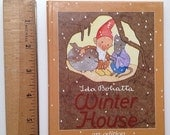CLEARANCE Winter House by Ida Bohatta, Children's Illustrated Picture Book, Gnomes, Ars Sacra, Elves, Imps, Tomten, 1930s, Heinzel
