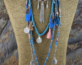 Gypsybo charm necklace