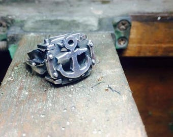SILVER Anchor ring