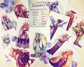 Final Fantasy Summons Postcard Set featured image