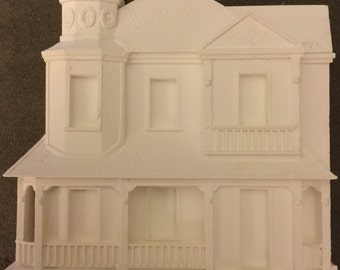 Miniature Braxton Payne Queen Anne House with Tower 2003  (VF)