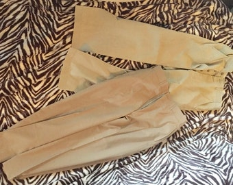 Vintage Army fatigue pants khaki