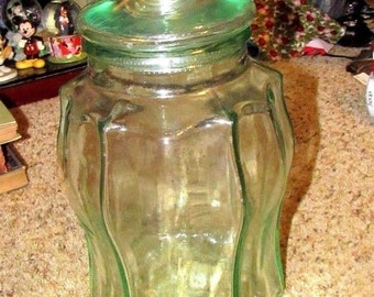 SVE Jug Jar Dispenser A with Spigot Spout Clear Beverage Large Glass Italy