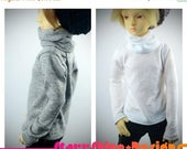 Sale 20% Off BJD MSD 1/4 Doll clothing - Long-Sleeved Turtleneck - Your Choice of 20 Colors