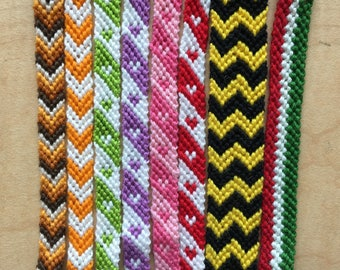 CLEARANCE 6 Inch Geometric Friendship Bracelets
