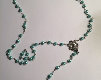 Pearl Beaded Rosary