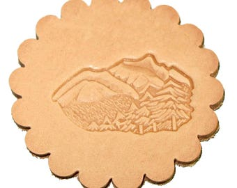 Mountains & Trees 3-D Stamp Leathercraft 88324-00