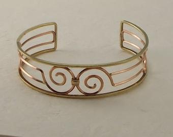 Classic Krementz Wire Cuff Bracelet  2361