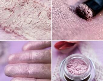 Eyeshadow: Sunbloom Spirit - Fairy. Soft pink shimmering eyeshadow by SIGIL inspired.