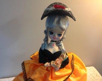 Vintage Doll Senpo Doll Bradley Doll Japan Doll Boudoir Doll Japanese Pose Doll