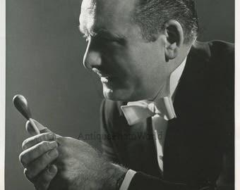 Louis Palange composer conductor vintage photo