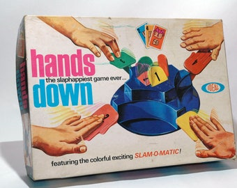 Hands Down Card Game from Ideal 1964 (read description)