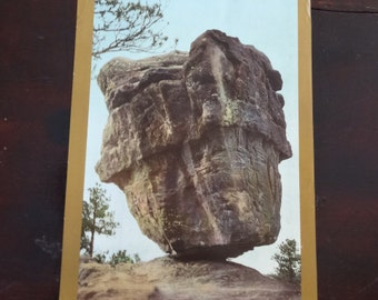 Absolutely beautiful Balance Rock photograph art supplement from the Philadelphia Inquirer on October 7th 1900 - antique and stunning