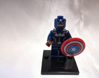 Captain America, Marvel minifigure Lego