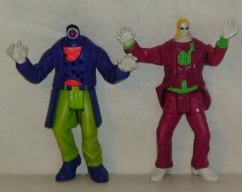 1989 Beetlejuice Action Figures!  Shish Kebab! Spinhead! Kenner!