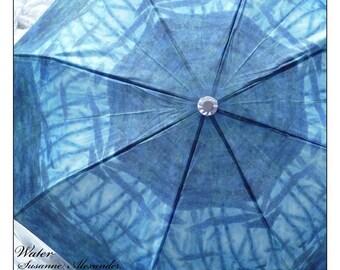IN STOCK Rain Umbrella Turquoise Art Umbrella